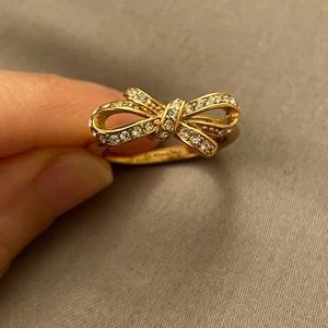 Coach Bow Ring